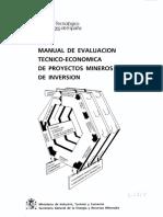 Guia para evaluación Técnico-Economica proyectos Mineros.pdf