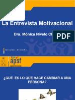 Entrevista Motivacional y Etapas Cambio