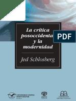 Schlosberg, Jed - La critica posoccidental y la modernidad.pdf