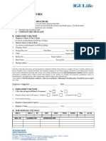 Medical Claim Form IPD