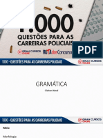 Claiton Natal 1.000 Questoes Carreiras Policiais Gramática