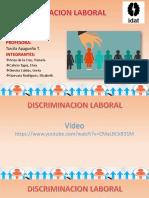 9trabajo Ppt. Discriminacion Laboral Final