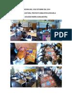 Bitácoras Biblioteca Escuela...