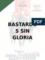 Bastardos Sin Gloria EJEMPLO