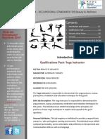 QP BWS Q2201 Yoga Instructor