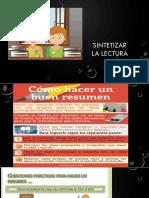 4. Sintetizar La Lectura-1