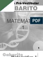 Matemática - Pré-Vestibular Dom Bosco - GAB-MAT1-SE1