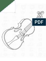 Violin Dibujo
