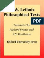 G. W. Leibniz - Philosophical Texts (Oxford Philosophical Texts)-Oxford University Press, USA (1998).pdf