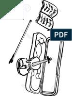 Violin y Funda
