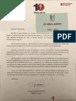 Carta de Cuca Gamarra