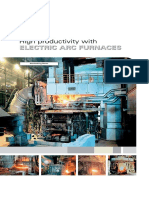 High Productivity With ELECTRIC ARC FURNACES. Steelmaking Plants