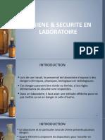 Securite Laboratoire