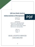 C-1 Excel Logistics Services Case Analysis