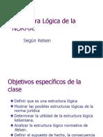 Estructura Lógica de La Norma