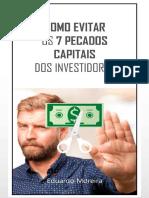 7 Pecados Capitais Dos Investidores