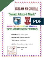 Caratula Obstetricia Individual