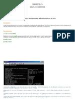 Laboratorio comandos redes