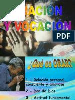 Oracion y Vocacion