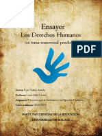 """Ensayo """"Los Derechos Humanos"""
