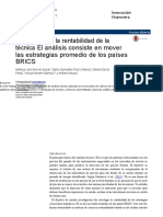 10. RENT. Examination of the Profitability of Technical Converted.en.Es