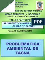 Taller Probelematica Ambiental Tacna ESAD2011