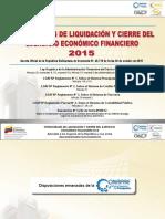presentacion Liquidacion 2015