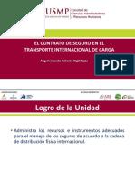 El Contrato de Seguros en El Transporte Internacional de Carga