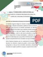 Bases y Condiciones Programas Integrales 2017