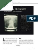 Acidez y antiácidos