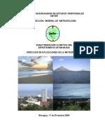 Caracterización Climática del Municipio de Managua