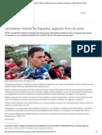Socialistas vencem na Espanha, segundo boca de urna _ Notícias internacionais e análises _ DW _ 28.04.2019