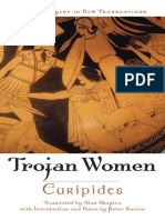 The Trojan Women Greek Tragedy in New Translations