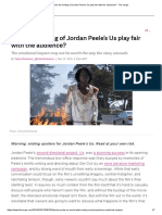 Does the Ending of Jordan Peele's Us Play Fair With the Audience_ - The Verge