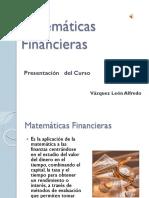 Presentacion Matematicas Financieras I