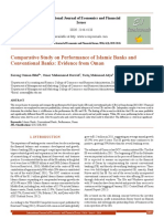 Comparative Study on Performance of Islamic Banks and Conventional Banks