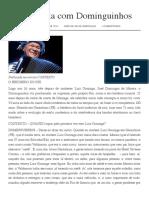 Entrevista Com Dominguinhos - Substantivo Plural