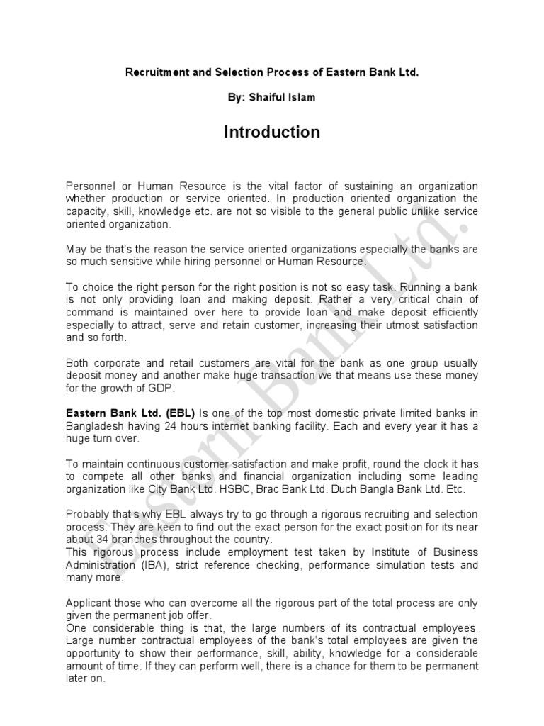 HRM-301 Term Paper | Recruitment | Employment