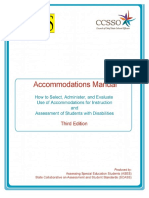 ases accommodations manual - 3rd edition - 2011 - 8-30-12