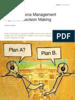 Crew Resource Management Improves Decision Making