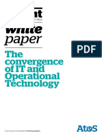 Ascent Whitepaper the Convergence of It and Operational Technology