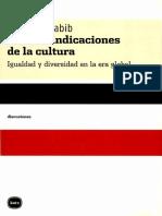 Benhabib - Las Reivindicaciones de La Cultura Pag 126-144