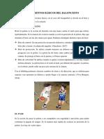 Fundamentos Básicos Del Baloncesto