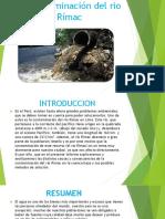 La Contaminación Del Rio Rímac