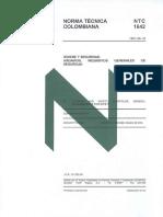 NTC 1642 -1981 Andamios Requisitos Generales
