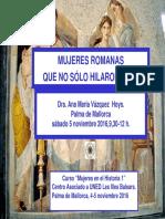 Mujeres Roman As