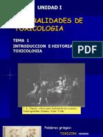 t1.Genrl. Toxicologia Historia Desastres