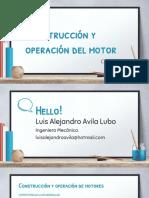 Contruccion y Operacion Del Motor