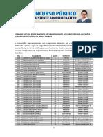 2016 CELESC Memorando Resultado Recursos QG