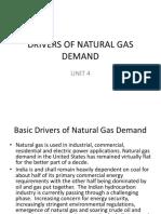 UNIT 4 - Natural gas business